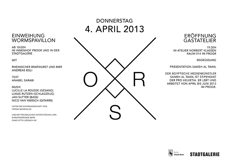 Eröffnung Gastatelier | Exhibition Opening