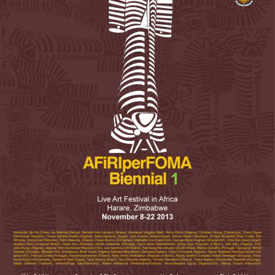 A442Hz in Afiriperforma Biennial 2013