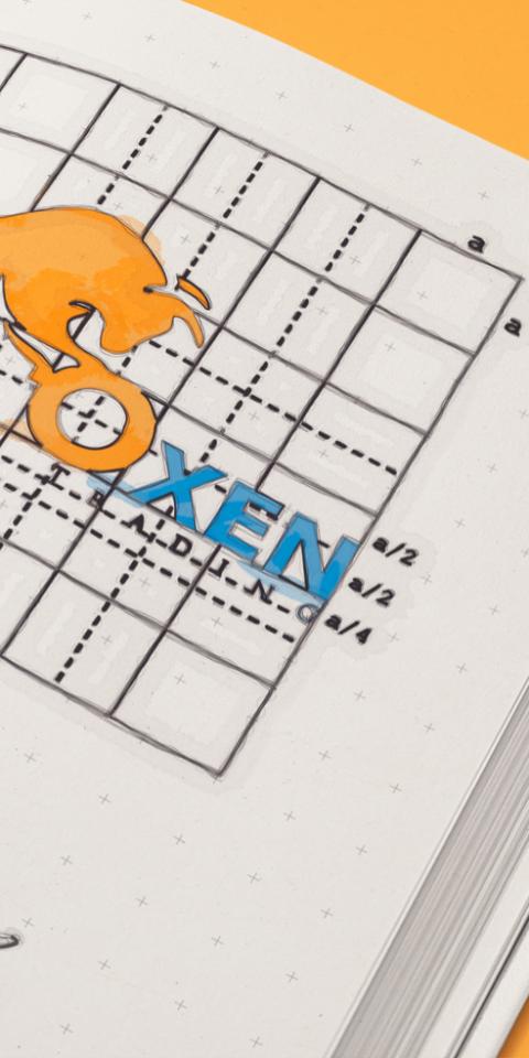 Oxen sketch