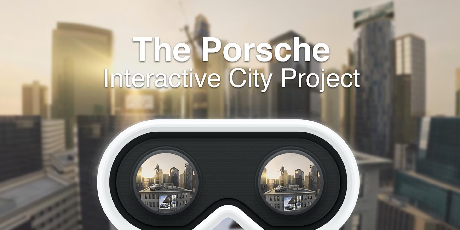 Porsche MENA Virtual reality