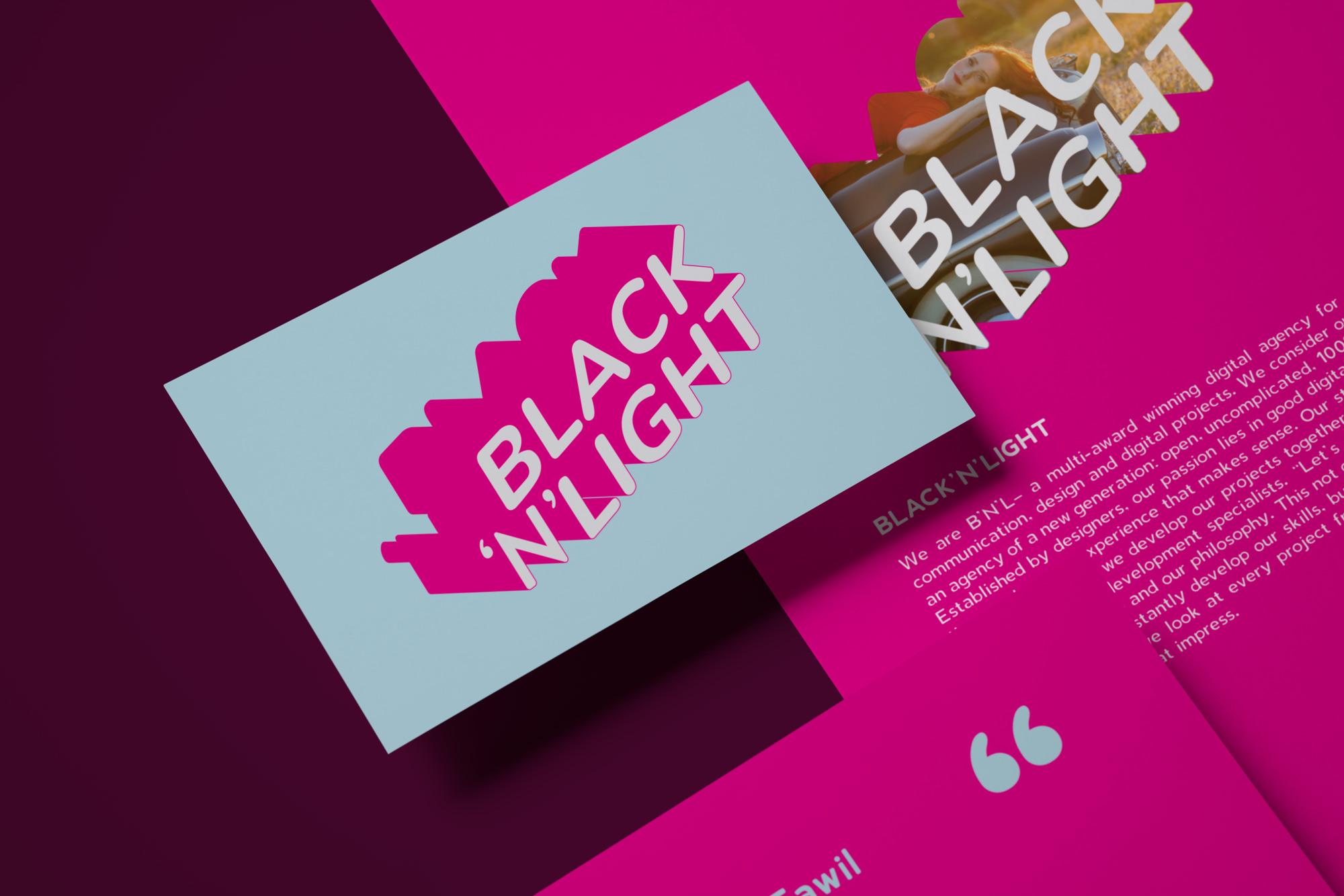 BLACK and LIGHT Branding